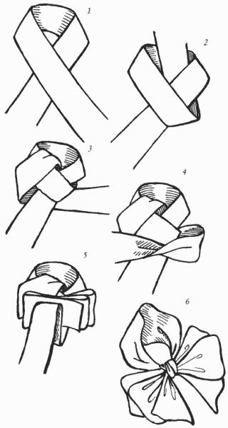Способы Завязывания Банта