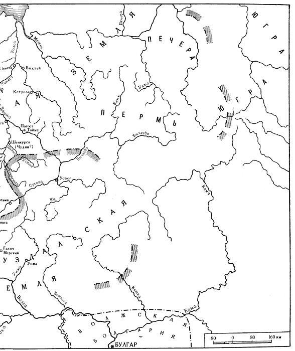 Новгородская земля (по А. Н.