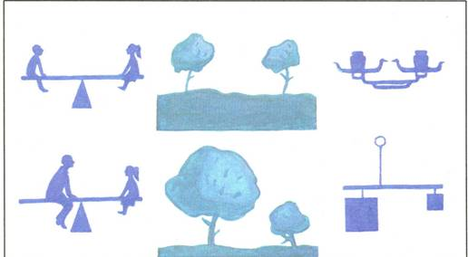 Схема равновесия в композиции