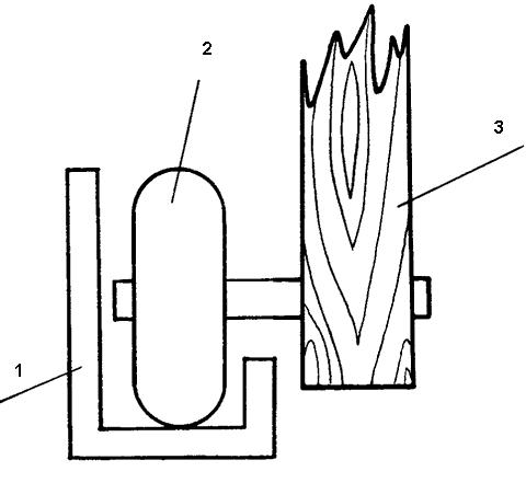 Схема крепления нижних роликов