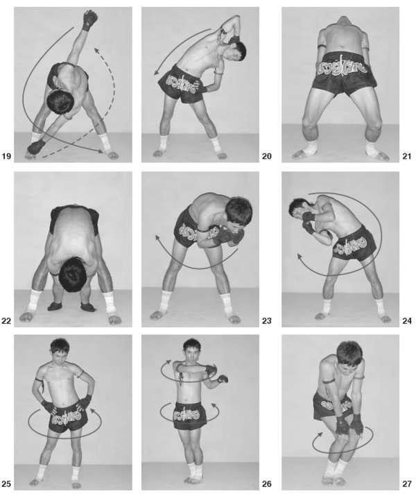 Упражнение для бокса в домашних условиях