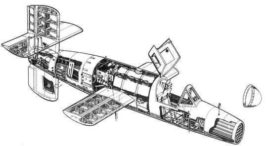 Компоновочная схема самолета «