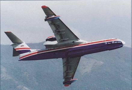 Бе-200 демонстрирует свою