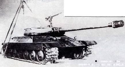 Деревянная модель танка ис 4